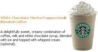 Starbucks White Mocha